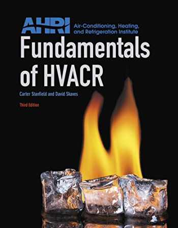 9780134016160-0134016165-Fundamentals of HVACR (3rd Edition)
