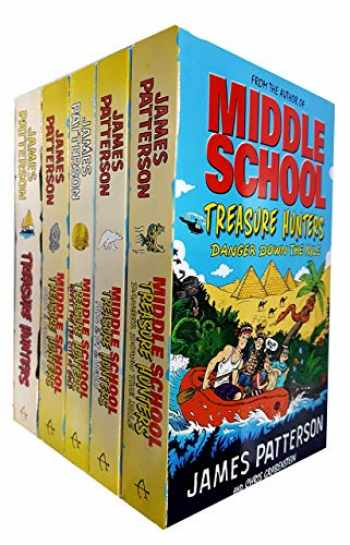 9789123796212-9123796219-Middle School Treasure Hunters Series Collection 5 Books Set by James Patterson