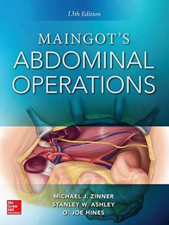 9780071843072-0071843078-Maingot's Abdominal Operations. 13th edition