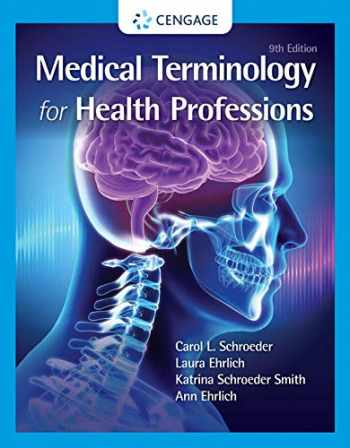 9780357513699-035751369X-Medical Terminology for Health Professions, Spiral bound Version