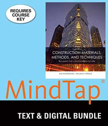 9781337192439-1337192430-Bundle: Construction Materials, Methods and Techniques, 4th + MindTap Construction 2 terms (12 Months) Printed Access Card