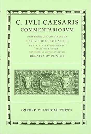 9780198146025-0198146027-Commentarii: Volume I: Bello Gallico cum A. Hirti Supplemento (Oxford Classical Texts)