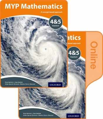 9780198356288-0198356285-MYP Mathematics 4 and 5 Standard: Print and Online Course Book Pack (IB MYP SERIES)