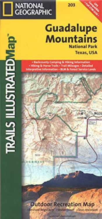 9781566953160-1566953162-Guadalupe Mountains National Park (National Geographic Trails Illustrated Map, 203)