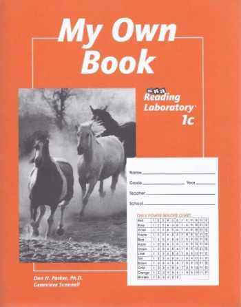 Sell, Buy or Rent My Own Book: Sra Reading Laboratory 1c ...