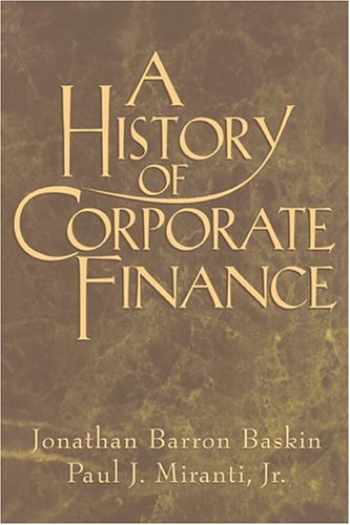 9780521555142-0521555140-A History of Corporate Finance