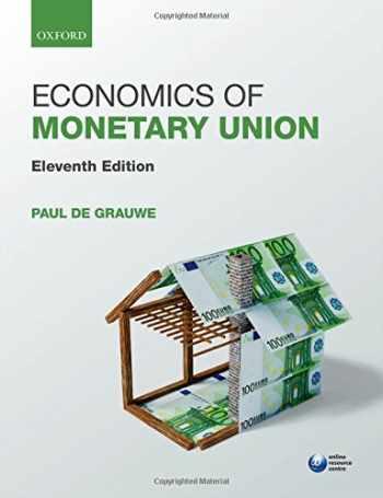 9780198739876-0198739877-Economics of Monetary Union