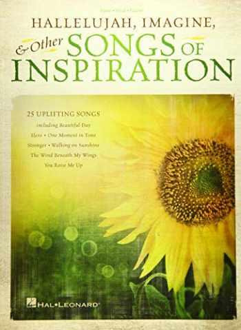 9781480344341-1480344346-Hallelujah, Imagine & Other Songs of Inspiration (PIANO, VOIX, GU)