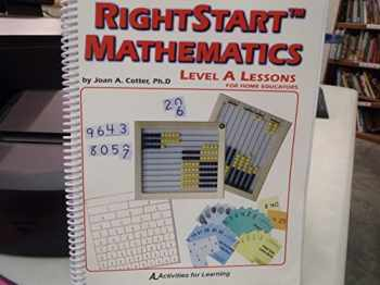 9781931980104-1931980101-RightStart Mathematics Level A Lessons For Home Educators