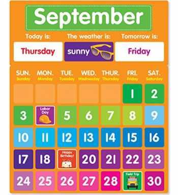 9781338127805-1338127802-Color Your Classroom: Calendar Bulletin Board