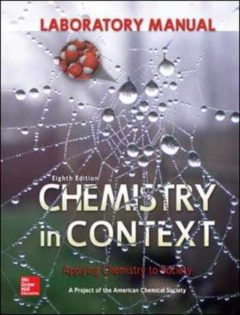 9780073518121-0073518123-Laboratory Manual Chemistry in Context