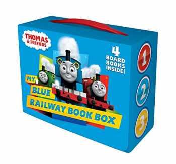 9781524772246-1524772240-My Blue Railway Book Box (Thomas & Friends) (Bright & Early Board Books(TM))