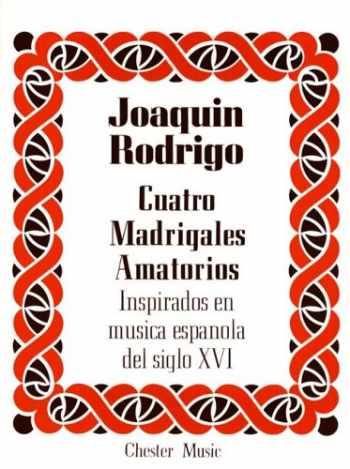 9780711924529-071192452X-Joaquin Rodrigo: Cuatro Madrigales Amatorios (High Voice)