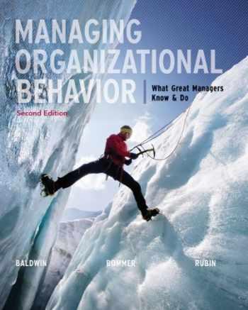 9780077630751-0077630750-Managing Organizational Behavior with Connect Plus