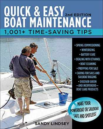 9780071789974-0071789979-Quick and Easy Boat Maintenance, 2nd Edition: 1,001 Time-Saving Tips