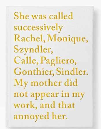 9782365111171-2365111173-Sophie Calle: Rachel Monique (Beaux livres)