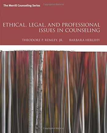 9780134061641-0134061640-Ethical, Legal, and Professional Issues in Counseling (5th Edition)