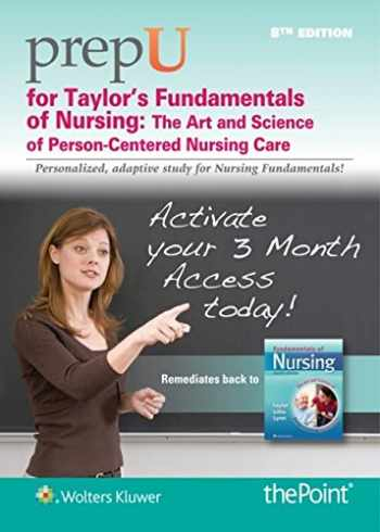 9781469881775-1469881772-PrepU for Taylor's Fundamentals of Nursing: Stand Alone Edition, 12 Month Access