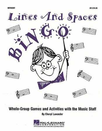 9781423444688-142344468X-Lines and Spaces Bingo