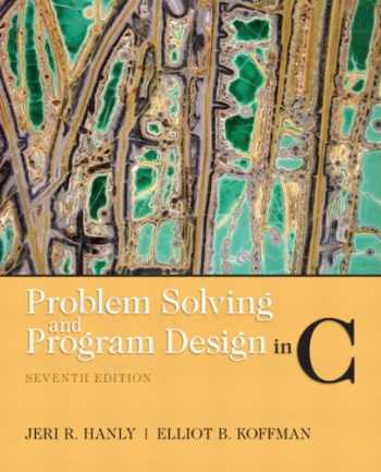 9780132936491-0132936496-Problem Solving and Program Design in C (7th Edition)