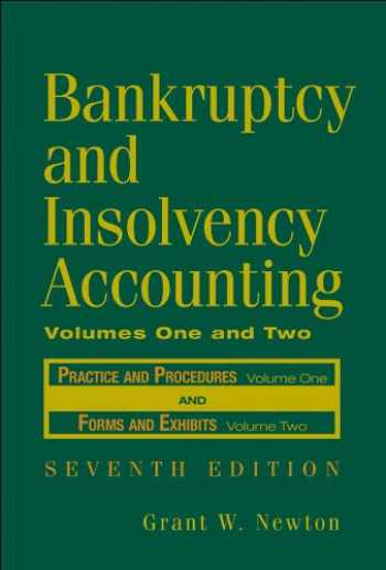 9780471787631-0471787639-Bankruptcy and Insolvency Accounting, 2 Volume Set (v. 1 & 2)