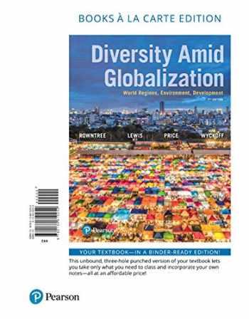 9780134610252-0134610253-Diversity Amid Globalization: World Regions, Environment, Development, Books a la Carte Edition (7th Edition)