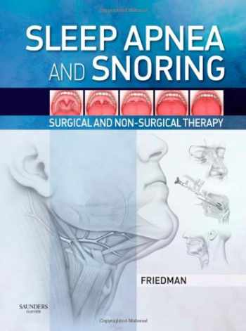 9781416031123-141603112X-Sleep Apnea and Snoring: Surgical and Non-Surgical Therapy