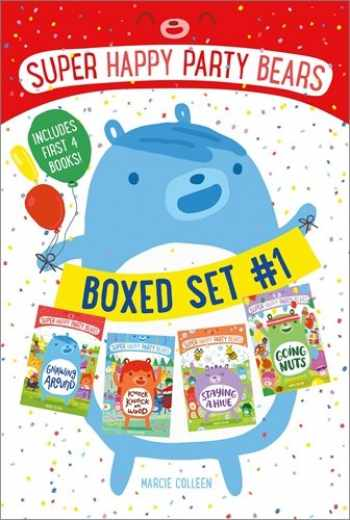 9781250143938-1250143934-Super Happy Party Bears Boxed Set #1: Gnawing Around; Knock Knock on Wood; Staying a Hive; Going Nuts