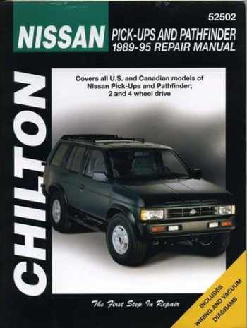 9780801986710-0801986710-Nissan Pick-ups and Pathfinder, 1989-95 (Chilton Total Car Care Series Manuals)