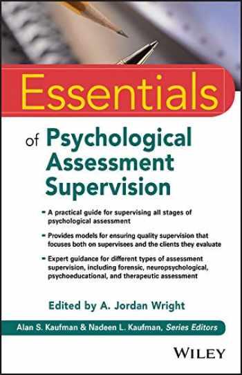 9781119433040-1119433045-Essentials of Psychological Assessment Supervision
