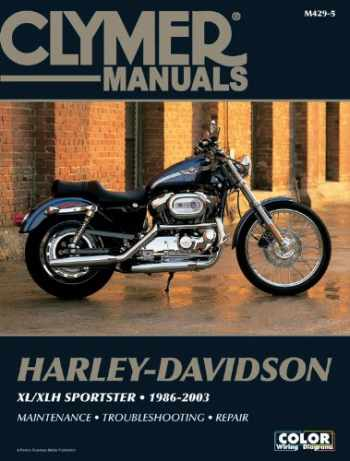9781599691497-1599691493-Harley-Davidson XL/XLH Sportster 1986-2003 (CLYMER MOTORCYCLE REPAIR)