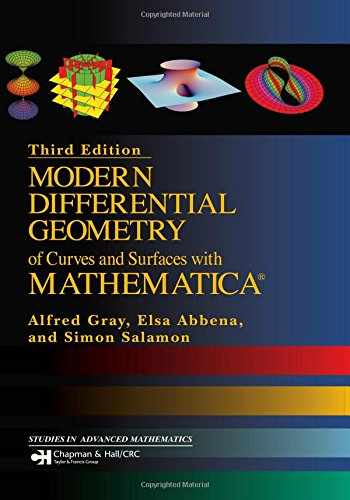 9781584884484-1584884487-Modern Differential Geometry of Curves and Surfaces with Mathematica (Textbooks in Mathematics)