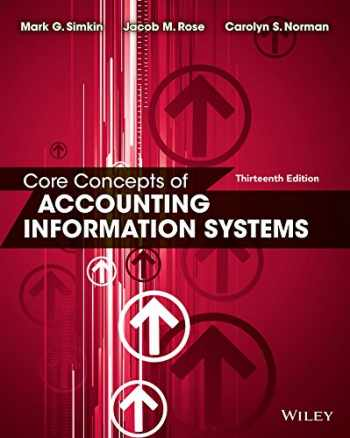 9781118742938-1118742931-Core Concepts of Accounting Information Systems
