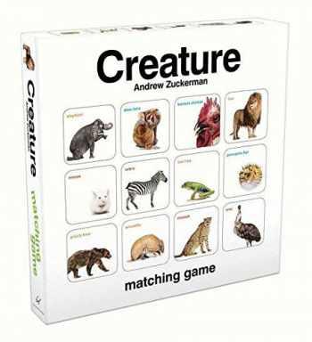 9781452117232-1452117233-Creature Matching Game (by Andrew Zuckerman, Memory Matching Games for Toddlers, Animal Matching Games for Kids, Preschool Memory Games)
