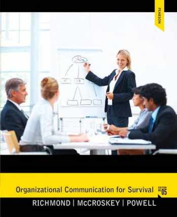 9780205060344-020506034X-Organizational Communication for Survival (Holbrook Press criminal justice series)