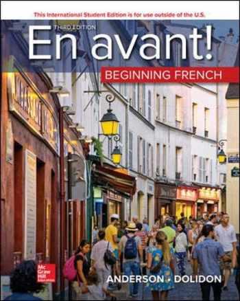 9781260566406-1260566404-ISE En avant Beginning French (Student Edition)