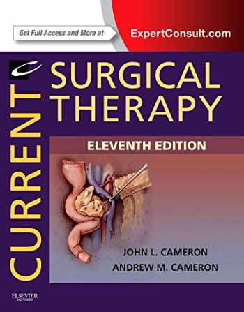 9781455740079-1455740071-Current Surgical Therapy: Expert Consult - Online and Print