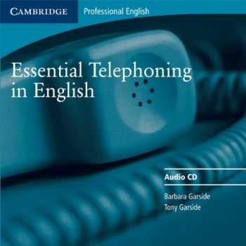 9780521783910-0521783917-Essential Telephoning in English Audio CD (Cambridge Professional English)