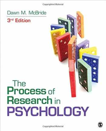 9781483347608-1483347605-The Process of Research in Psychology