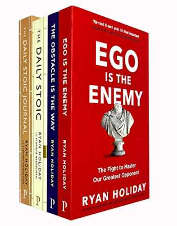 9789123787838-912378783X-Ryan Holiday 4 Books Collection Set (The Daily Stoic Journal [Hardcover], The Daily Stoic, The Obstacle Is The Way, Ego Is The Enemy)