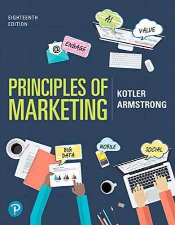 9780135766590-0135766591-Principles of Marketing [RENTAL EDITION] (18th Edition)