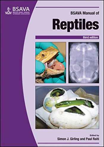 9781905319794-1905319797-BSAVA Manual of Reptiles, 3rd edition (BSAVA British Small Animal Veterinary Association)