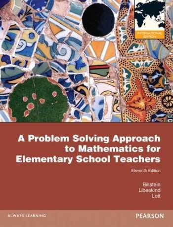 9780321781819-0321781813-A Problem Solving Approach to Mathematics for Elementary School Teachers