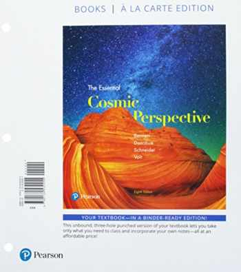 9780134566238-0134566238-Essential Cosmic Perspective, The, Books a la Carte Plus Mastering Astronomy with Pearson eText -- Access Card Package (8th Edition)