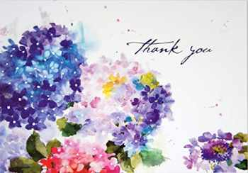9781441320155-1441320156-Hydrangeas Thank You Notes (Stationery, Note Cards, Boxed Cards)