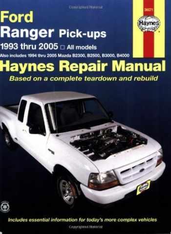 9781563925399-1563925397-Ford Ranger Pick-Ups,1993-2005 (Haynes Repair Manual)