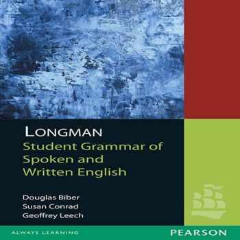 9788131733394-8131733394-Longman Student Grammar Of Spoken And Written English