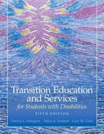 9780135056080-013505608X-Transition Education and Services for Students with Disabilities