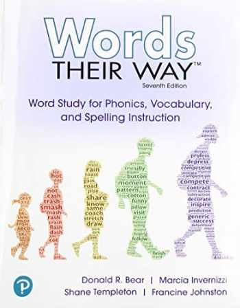 9780135174623-0135174627-Words Their Way: Word Study for Phonics, Vocabulary and Spelling Instruction with Words Their Way Digital and Enhanced Pearson eText -- Access Card Package (7th Edition)