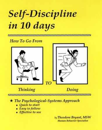 9781880115107-1880115107-Self-Discipline in 10 days: How To Go From Thinking to Doing